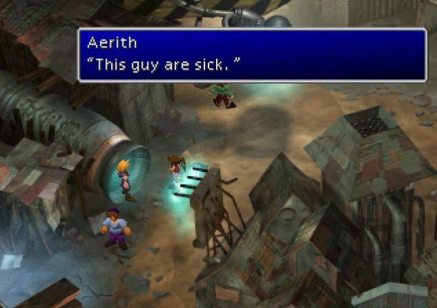 """Ne dites pas """"mais c'est expérimental et libre du poids des conventions!"""" sans avoir d'abord vu le film. Ce serait comme dire que la traduction de Final Fantasy VII est """"expérimentale et libre"""". (D'accord, c'est pas aussi mauvais que ça. Mais c'est mettre la barre bien bas.)"""