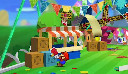 Fold, Flip, Stick: Paper Mario, 2 5-Dimensionality and the