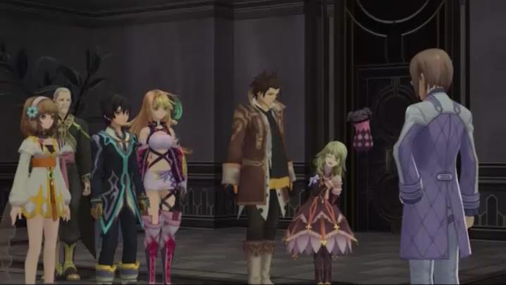 Figure 2: Elise from Tales of Xillia in her original Goth-loli costume