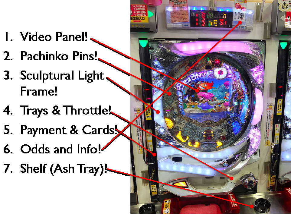Figure 1: Visual Field of Pachinko Game