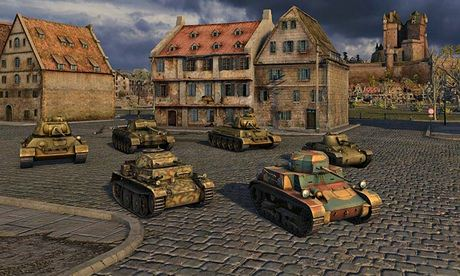 World of Tanks: 'the lack of any Russian machines is a little disappointing.'