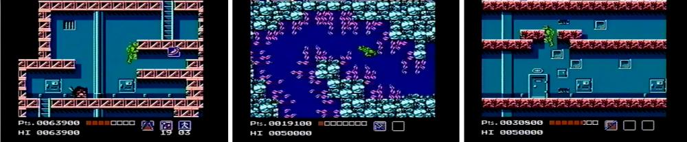 Je me souvenais de cette pizza. Et de ces algues électriques, et de ce trou qu'il faut simplement marcher par-dessus, et…